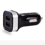 Зарядное устройство Momax XC USB Car Charger (автомобильное) (универсальное, 2 х USB, 1A, черное)