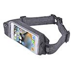 Чехол-повязка Devia EasyGo Waist Bag для телефонов (серый, матерчатый, на пояс)