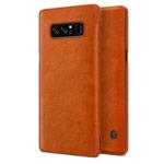 Чехол Nillkin Qin leather case для Samsung Galaxy Note 8 (коричневый, кожаный)