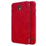 Чехол Nillkin Qin leather case для Samsung Galaxy J7 2017 (красный, кожаный)