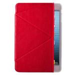 Чехол Momax The Core Smart Case для Apple iPad mini (красный, кожанный)