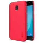 Чехол Nillkin Hard case для Samsung Galaxy J3 2017 (красный, пластиковый)