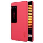 Чехол Nillkin Hard case для Meizu Pro 7 (красный, пластиковый)
