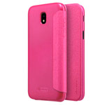 Чехол Nillkin Sparkle Leather Case для Samsung Galaxy J5 2017 (розовый, винилискожа)