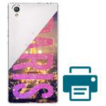 Печать на чехле для Sony Xperia L1 (прозрачный, пластиковый)