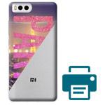 Печать на чехле для Xiaomi Mi 6 (прозрачный, пластиковый)