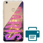 Печать на чехле для Xiaomi Mi Max 2 (прозрачный, пластиковый)