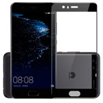 Защитная пленка Yotrix 3D Glass Protector для Huawei P10 plus (стеклянная, черная)