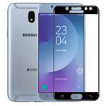 Защитная пленка Yotrix 3D Glass Protector для Samsung Galaxy J7 2017 J730 (стеклянная, черная)