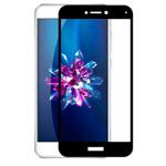 Защитная пленка Yotrix 3D Glass Protector для Huawei P8 lite 2017 (стеклянная, черная)
