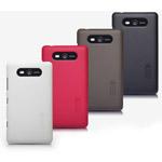 Чехол Nillkin Hard case для Nokia Lumia 820 (черный, пластиковый)