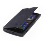 Чехол Nillkin Side leather case для Nokia Lumia 920 (черный, кожанный)