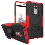 Чехол Yotrix Shockproof case для Xiaomi Redmi Note 4 (красный, пластиковый)