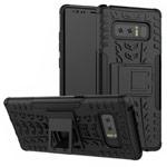Чехол Yotrix Shockproof case для Samsung Galaxy Note 8 (черный, пластиковый)