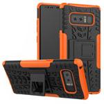 Чехол Yotrix Shockproof case для Samsung Galaxy Note 8 (оранжевый, пластиковый)