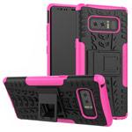 Чехол Yotrix Shockproof case для Samsung Galaxy Note 8 (розовый, пластиковый)