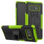 Чехол Yotrix Shockproof case для Samsung Galaxy Note 8 (зеленый, пластиковый)