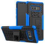 Чехол Yotrix Shockproof case для Samsung Galaxy Note 8 (синий, пластиковый)