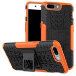 Чехол Yotrix Shockproof case для OnePlus 5 (оранжевый, пластиковый)