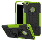 Чехол Yotrix Shockproof case для Xiaomi Mi Max 2 (зеленый, пластиковый)