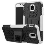 Чехол Yotrix Shockproof case для Samsung Galaxy J3 2017 J330 (белый, пластиковый)