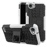 Чехол Yotrix Shockproof case для LG Q6 (белый, пластиковый)