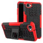 Чехол Yotrix Shockproof case для LG Q6 (красный, пластиковый)