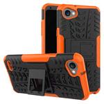 Чехол Yotrix Shockproof case для LG Q6 (оранжевый, пластиковый)