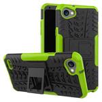 Чехол Yotrix Shockproof case для LG Q6 (зеленый, пластиковый)