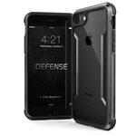 Чехол X-doria Defense Shield для Apple iPhone 8 (черный, маталлический)