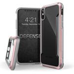 Чехол X-doria Defense Shield для Apple iPhone X (розово-золотистый, маталлический)
