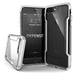 Чехол X-doria Defense Clear для Apple iPhone 8 plus (белый, пластиковый)