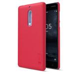 Чехол Nillkin Hard case для Nokia 5 (красный, пластиковый)