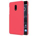Чехол Nillkin Hard case для Nokia 6 (красный, пластиковый)