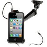 Автомобильный держатель Griffin WindowSeat AUX для iPhone 4, 3GS