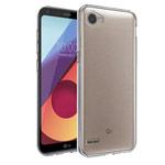 Чехол Yotrix UltrathinCase для LG Q6 (прозрачный, гелевый)