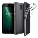 Чехол Yotrix UltrathinCase для Nokia 2 (прозрачный, гелевый)