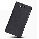 Чехол Nillkin Side leather case для Sony Xperia Z L36i/L36h (черный, кожанный)