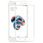 Защитная пленка Yotrix 3D Glass Protector для Xiaomi Mi 1A/5X (стеклянная, белая)