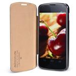 Чехол Nillkin Side leather case для LG Google Nexus 4 E960 (черный, кожанный)