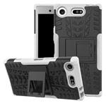 Чехол Yotrix Shockproof case для Sony Xperia XZ1 compact (белый, пластиковый)