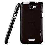 Чехол Momax iCase Pro для HTC One X S720e (черный, гелевый/пластиковый)