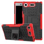 Чехол Yotrix Shockproof case для Sony Xperia XZ1 compact (красный, пластиковый)