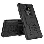 Чехол Yotrix Shockproof case для Lenovo K8 plus (черный, пластиковый)