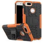 Чехол Yotrix Shockproof case для Xiaomi Mi 1A/5X (оранжевый, пластиковый)