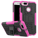 Чехол Yotrix Shockproof case для Xiaomi Mi 1A/5X (розовый, пластиковый)