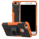 Чехол Yotrix Shockproof case для Xiaomi Redmi Note 5A/5A prime (оранжевый, пластиковый)