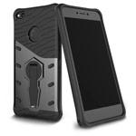 Чехол Yotrix StandCase для Huawei P8 lite 2017 (черный, пластиковый)
