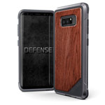 Чехол X-doria Defense Lux для Samsung Galaxy Note 8 (Wood, маталлический)