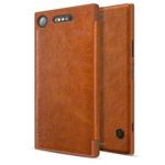 Чехол Nillkin Qin leather case для Sony Xperia XZ1 (коричневый, кожаный)